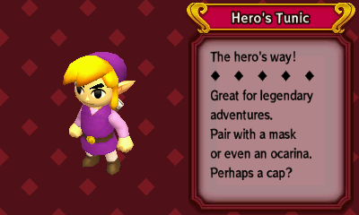 3DS patch v0 8 65] Tri Force Heroes - Purple Link