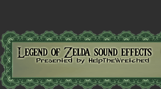 Legend of Zelda sound effects by HelpTheWretched