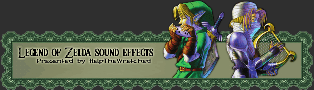 Legend of Zelda sound effects by HelpTheWretched - Powered